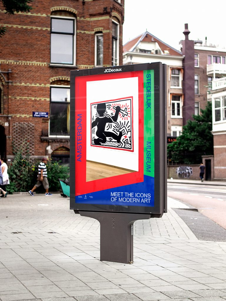 Studio Bas Koopmans - Stedelijk Museum Amsterdam  —  Meet the Icons of Modern Art